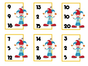 Math Centers with a Circus Theme