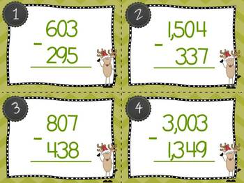 Math Centers........Christmas Themed {Common Core Aligned}