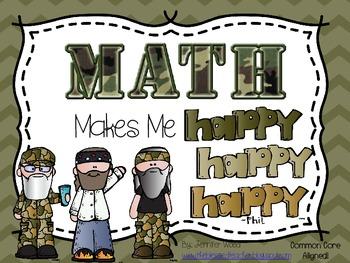 Math Centers.....Math Makes Me Happy,Happy,Happy!
