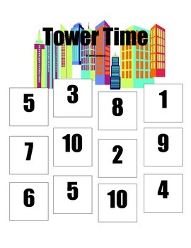 Math Centre: Tower Time