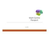 Math Centres Passport