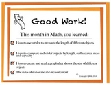 Math Certificate - Measurement