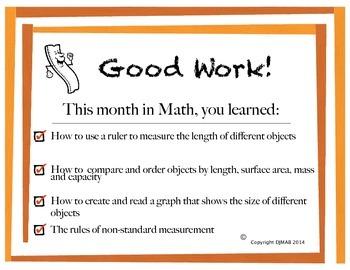 Math Certificate - Measurement