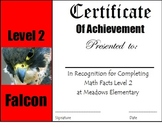 Math Certificates (4 of them)