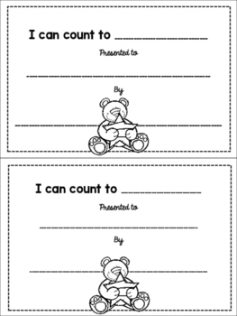 Math Certificates: I Can Count To . . .