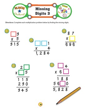 Math Challenge 2 Workbook