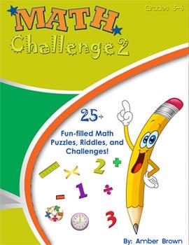 Math Challenge 2 Workbook