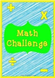 Math Challenge 5th Grade Review