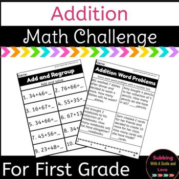 Math Challenge: Addition Challenge