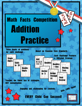 Math Facts Challenge - Addition Practice