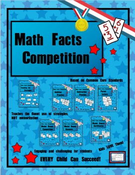 Math Facts Challenge - Competition Bundle (Support Materials)