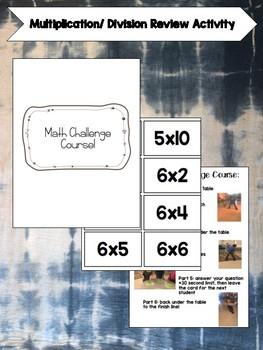 Math Challenge Course