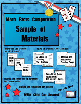 Math Facts Challenge - Free Sample