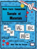Math Facts Challenge - Free Sample