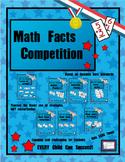 Math Facts Challenge - Math Facts Competition Bundle, (Ins