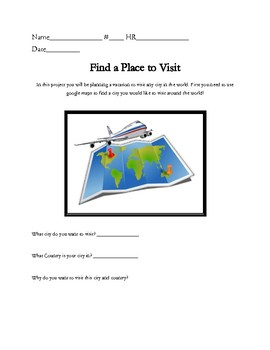 Math Challenge: Plan a Dream Vacation