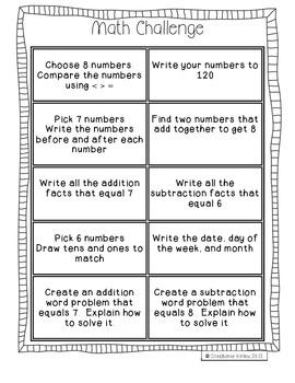 Math Challenge - September