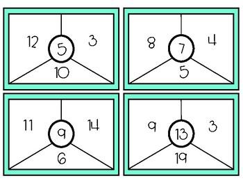 Math Challenge Task Cards