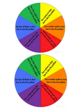 Math Challenge Wheel