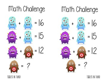 Math Challenge of the Day 1 - Class Dojo Edition