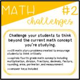 Math Challenges 2