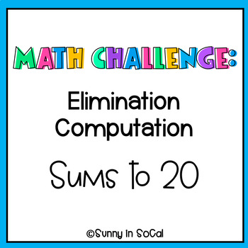 Math Challenges: Adding Within 20