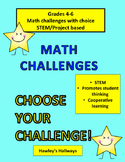Math Challenges/Stem