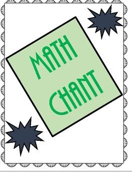 Math Chant
