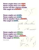 Math Chants-Vocabulary, Geometry, Odd/Even, Statistics, Number Lines
