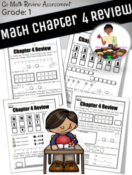 "Chapter: 4 Review ""Go Math"" Form B Included"