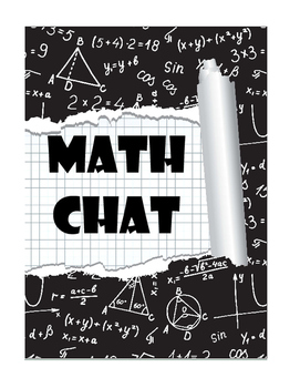 Math Chat 8th Grade Common Core Terms Student Journal