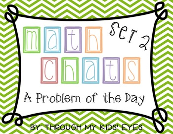 Math Chat -  Problem of the Day Set 2: Addition & Subtraction Word Problems