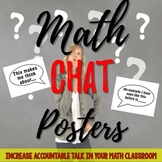 CUSTOMIZABLE: Math Chat Posters for Accountable Talk