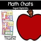 Math Chats August/September