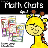 Math Chats FIRST GRADE APRIL
