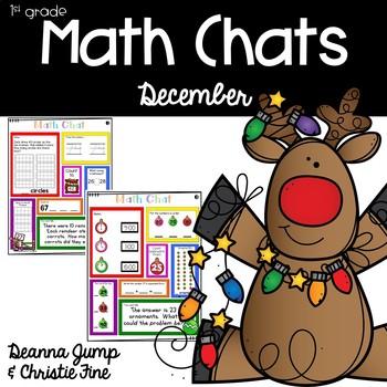 Math Chats FIRST GRADE December
