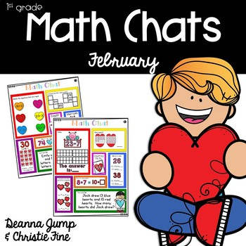 Math Chats FIRST GRADE February