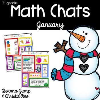 Math Chats FIRST GRADE January