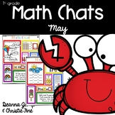 Math Chats FIRST GRADE MAY
