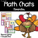 Math Chats FIRST GRADE November