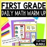 Math Chats FIRST GRADE Yearlong Bundle
