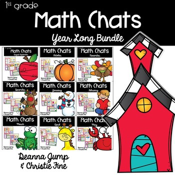 Math Chats FIRST GRADE Yearlong Bundle
