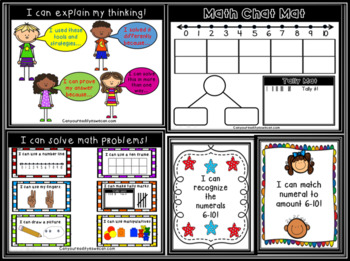 Math Chats Unit 2: Numbers and Amounts 6-10
