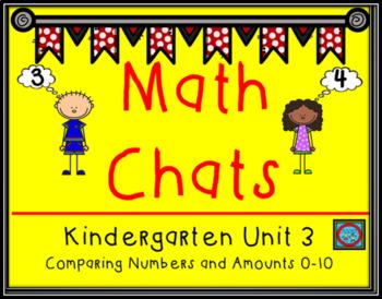 Math Chat Unit 3: Comparing 0-10
