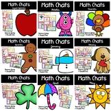Math Chats Yearlong Bundle