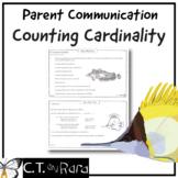 Counting & Cardinality Math Check-In Progress Monitoring P