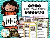 "Math Check ""Your-Selfie"" Poster - CCSS Math Practices Constructed Response"