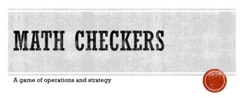 Math Checkers - A math Game