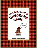 Multiplication Checkers Game
