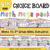 5th Grade Math Projects Mega Bundle - ALL CCSS Standards